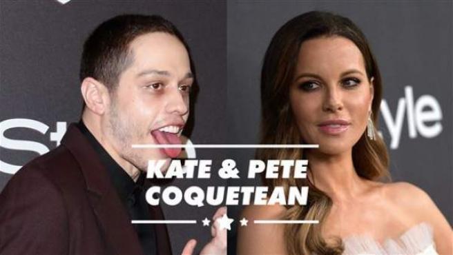 No sorprende que Kate Beckinsale esté tonteando con Pete Davidson