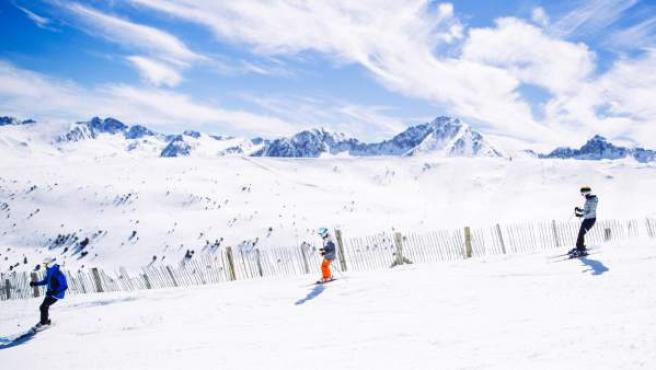 Estació d'esquí Grandvalira.