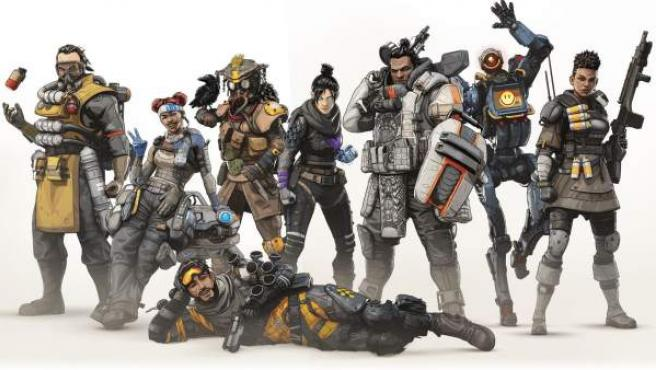 Imagen promocional del videojuego 'Apex Legends'.