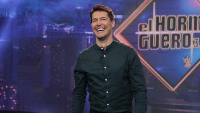 Jaime Cantizano, en 'El hormiguero'.