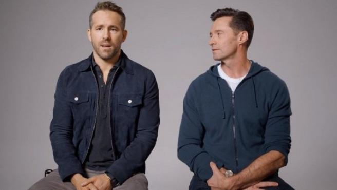 Ryan Reynolds y Hugh Jackman.