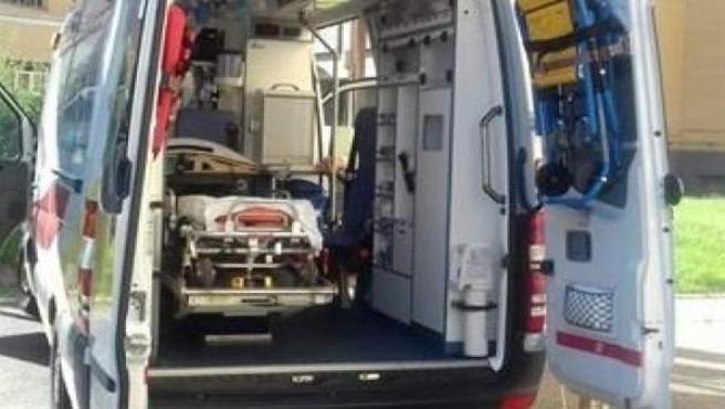 Una ambulancia en imagen de archivo