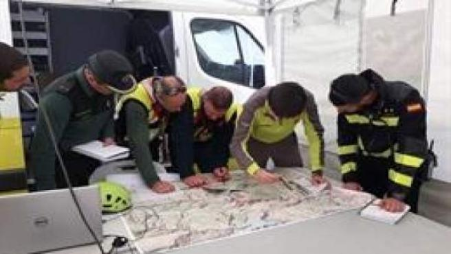 Efectivos de los cuerpos de seguridad y emergencias