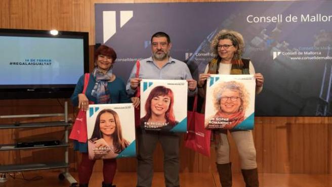 Jesús Jurado en la presentación de la campaña 'Regala Igualdad' de 2019