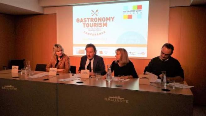 Presentación del 2º Congreso de Turismo Gastronómico FoodTrex Pamplona