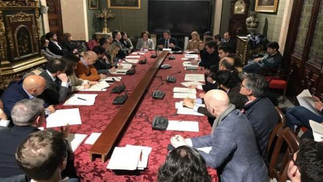 Reunión de trabajo dentro del Plan Estratégico Sevilla 2030