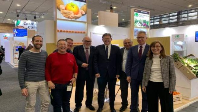 Delegación valenciana en Fruit Logistica