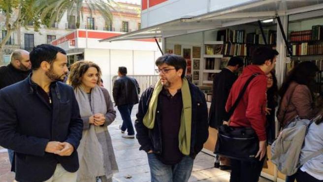Rojas en la Feria del Libro