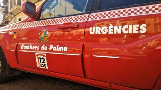 Bomberos de Palma, recurso, bombers, 112, urgencias, coche, emergencias