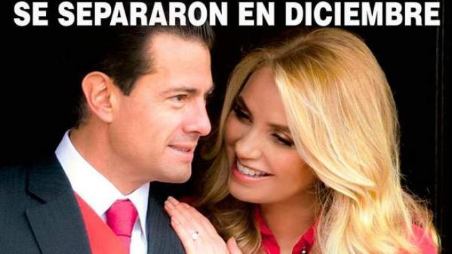 Portada de la revista ¡HOLA! con Enrique Peña Nieto y Angélica Rivera.