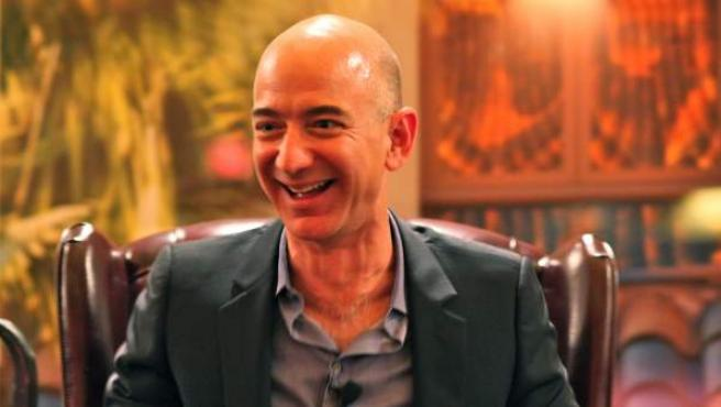 Jeff Bezos, fundador y director ejecutivo de Amazon.