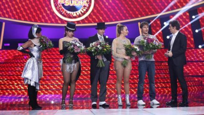 Soraya Arnelas, Mimi, Carlos Baute, María Villalón y Jordi Coll son los grandes finalistas de la séptima edición de 'Tu cara me suena', en Antena 3.