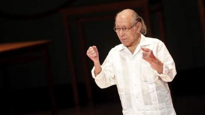 El creador teatral Salvador Távora, en una imagen de archivo.