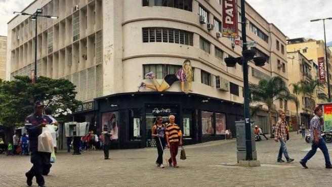 Imagen del centro de Caracas.