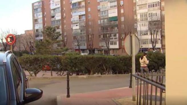 Barrio de Alcalá de Henares donde vivía el detenido por descuartizar a su novia.