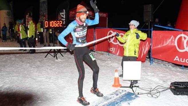 Jacob Gutiérrez se proclama campeón de España de Snow Running en Sierra Nevada