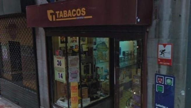 Administración de Lotería número 20 de Oviedo, en la calle Magdalena 3