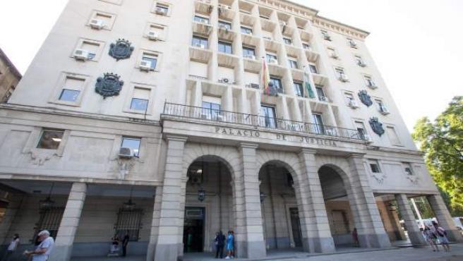 Palacio de Justicia de la Audiencia Provincial de Sevilla