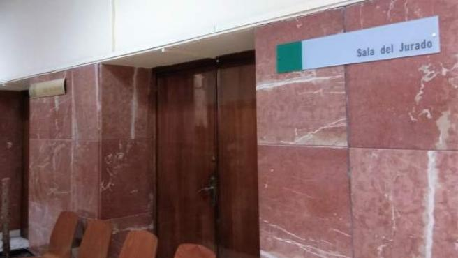 Sala de Jurado de la Audiencia Provincial de Almería