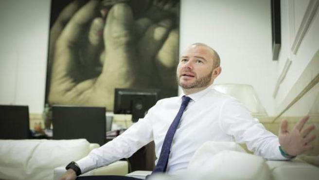 El presidente de la Diputación de Valencia, Toni Gaspar.