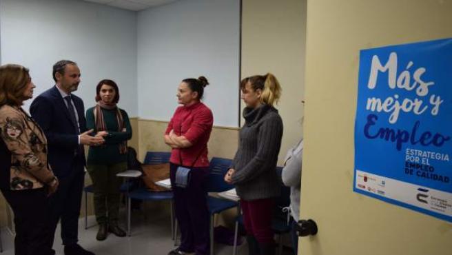 Celdrán con beneficiarias proyecto 'Retorno Madre'