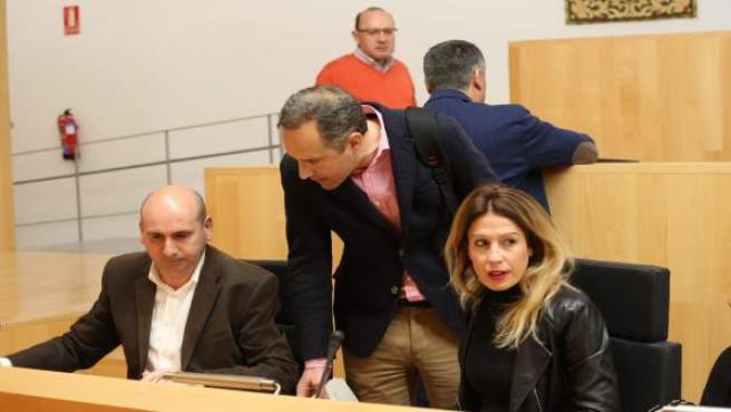 Paco Conejo, Antonia García PSOE Diputación diputados málaga política