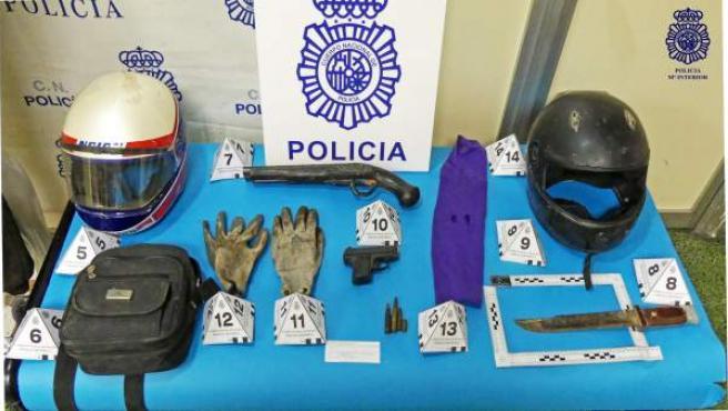 Dos detenidos por varios robos con violencia en establecimientos de la capital aragonesa