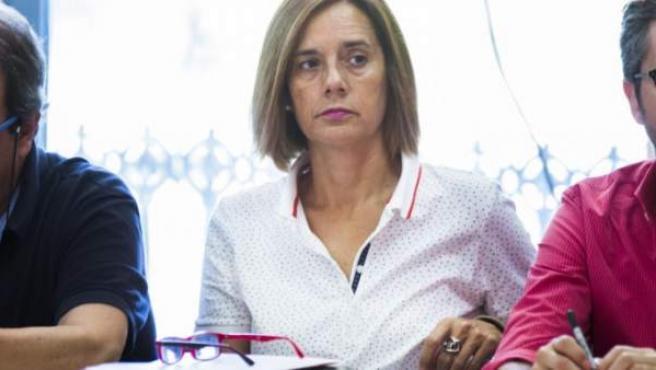 La secretaria de Educación del PSPV, Inma Sánchez