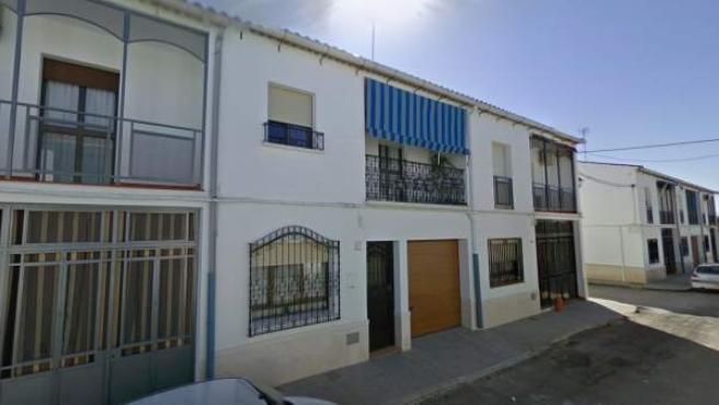 Imagen de la vivienda de la urbanización Los Olivos de Santaella (Córdoba).