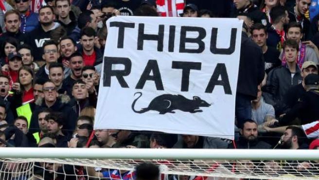 """""""Rata"""" es lo que más han llamado los atléticos a Courtois, ex portero de su equipo y actual del Real Madrid."""