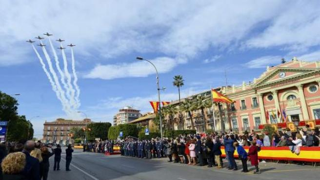 Jura de Bandera en Murcia