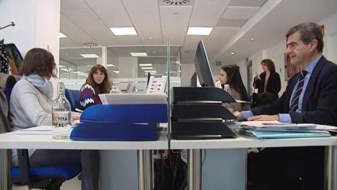 Imagen de una oficina.