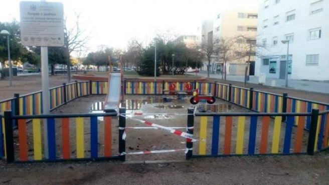 Parque infantil en Córdoba