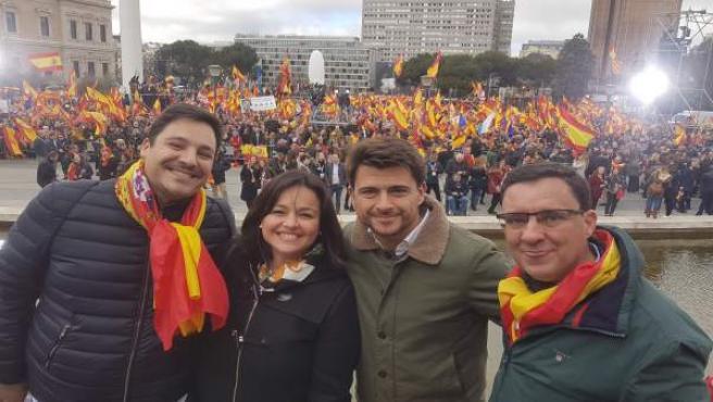 """Colón.- Beltrán Pérez (PP) llama a la """"unidad y acción de todos"""" los que creen en la España Constitucional"""