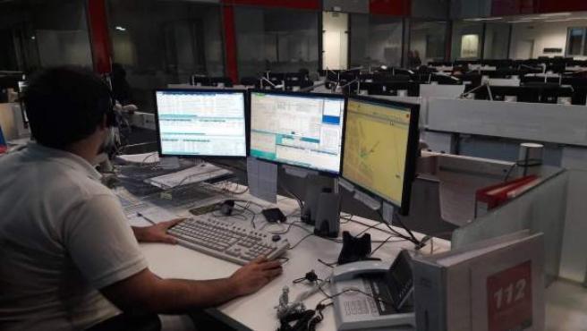 Trabajador de Emergencias 112 Andalucía