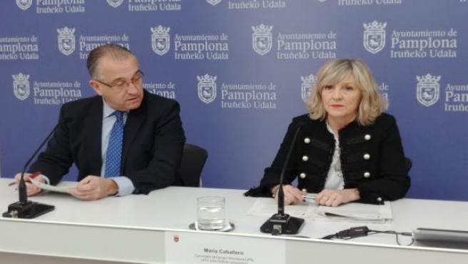 Enrique Maya y María Caballero