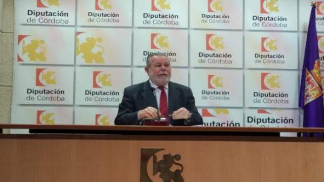 Salvador Blanco en rueda de prensa