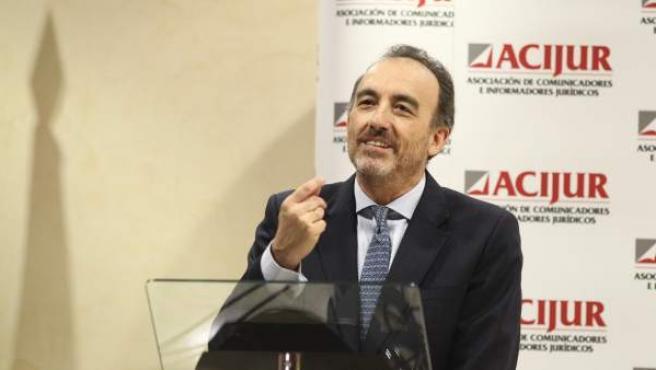 Manuel Marchena, en la entrega de la VIII Edición de los Premios Puñetas de ACIJUR.