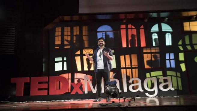 El actor y director malagueño Fran_Perea en TEDxMalaga