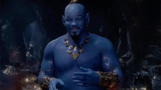Will Smith como genio azul: nuevo avance de 'Aladdin'