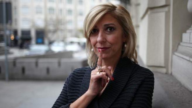 La escritora y doctora en lingüística por la Universidad de Georgtown en Madrid.