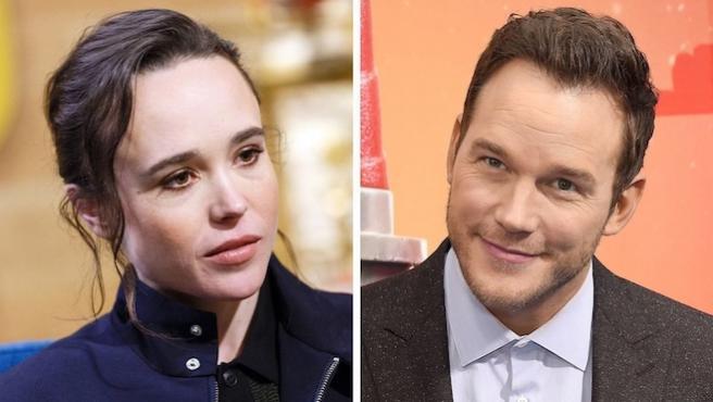 Chris Pratt responde a las acusaciones de homofobia de Ellen Page