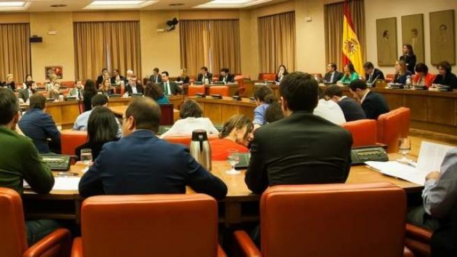 Reunión de la Diputación Permanente del Congreso de los Diputados.