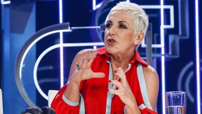 La cantante Ana Torroja, miembro del jurado de OT 2018, durante una gala del programa.