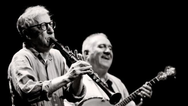 Woody Allen durante una de sus actuaciones.