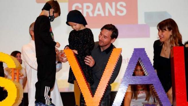 La Fundación Leo Messi, en el Día Mundial contra el cáncer infantil.