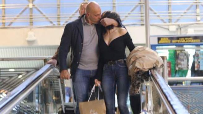 Kiko Matamoros y su novia, Cristina Pujol.