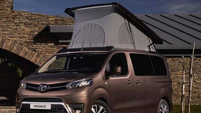 El nuevo monovolumen de Toyota, el Proace Verso Camper.