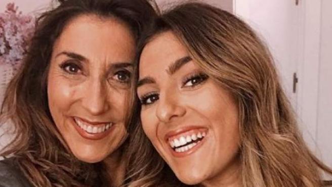 Paz Padilla y su hija, Anna Ferrer, en una imagen publicada por esta última en Instagram.