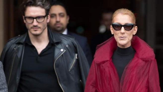 Celine Dion, en una imagen reciente en París.
